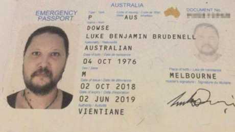 Luke Dowse passport pic x