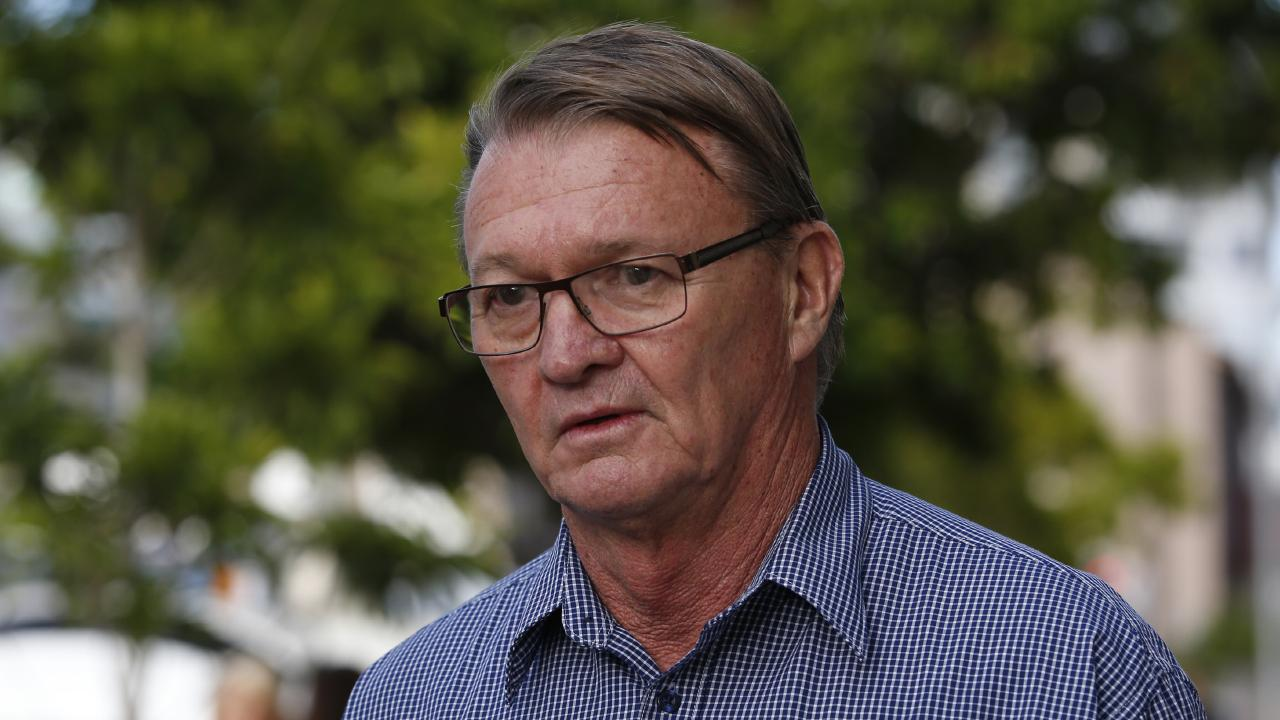 Workplace Health and Safety Queensland's principal inspector Ian Stewart, at the inquest into the Dreamworld ride disaster. Picture: AAP Image/Regi Varghese