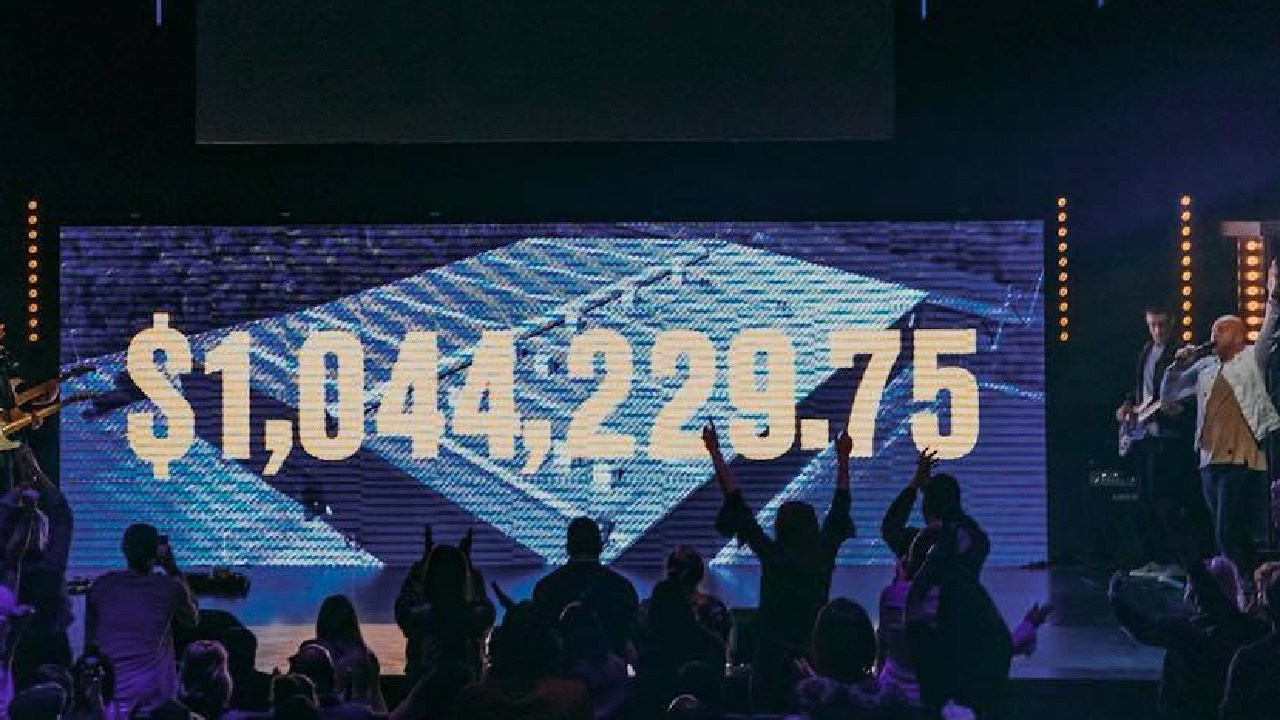 Glow Church raised more than $1 million in one day from its loyal members, the money is going towards its new building at 10 Energy Circuit Robina.