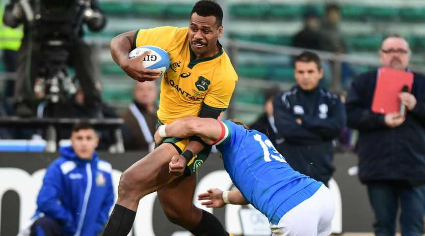 Samu Kerevi has been in hot form for the Wallabies. Picture: AFP Photos
