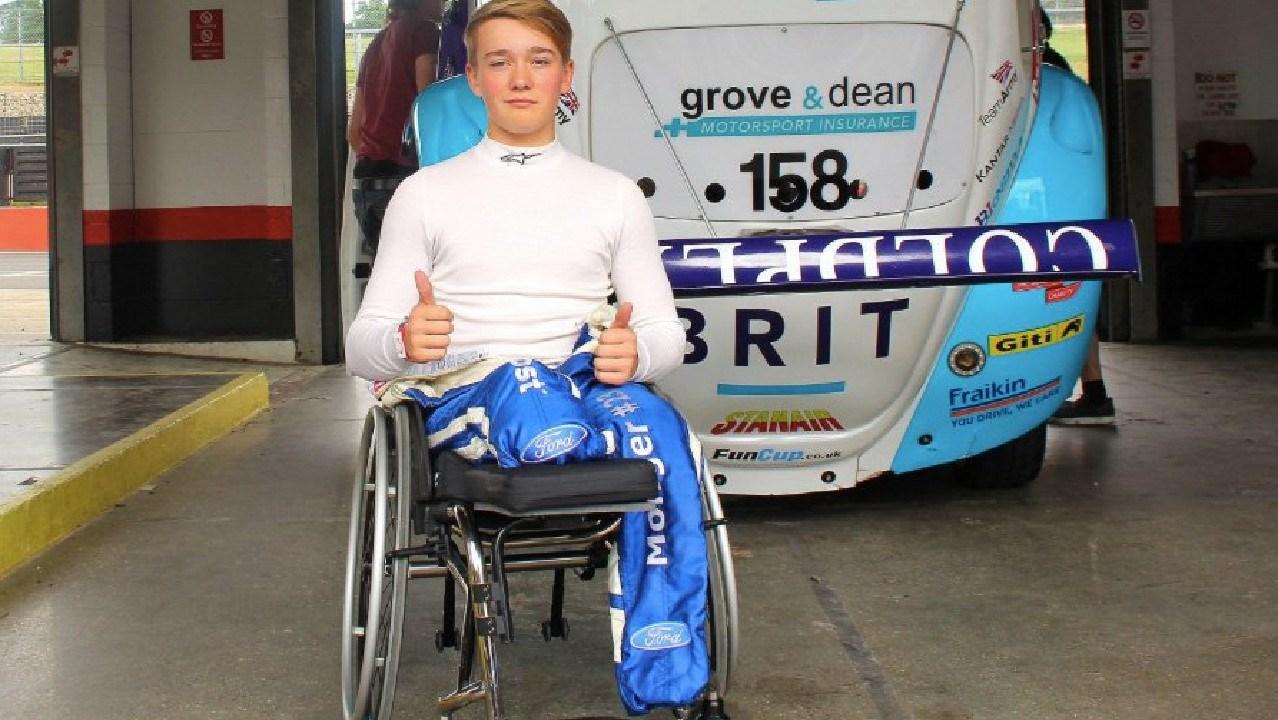 Billy monger is back racing in motorsport