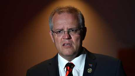 Scott Morrison has found himself in hot water over comments he made about Pamela Anderson. Picture: Mick Tsikas