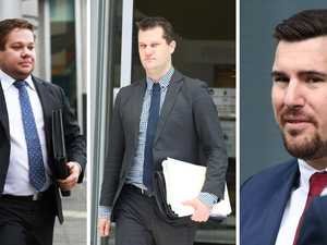 Lawyers front court on fraud charges