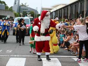 Santa starts the Christmas celebrations at Deepwater Plaza