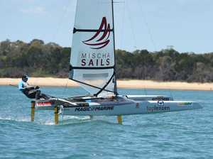 GALLERY: All the action from Sail Hervey Bay A-Cat Worlds