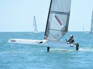 Sail Hervey Bay A-Cat World Championships - Day 3