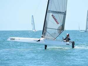 Sail Hervey Bay A-Cat World Championships - Day 3
