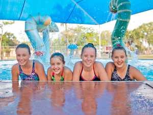 Jari Davis, 13, Skyla Bradford, 9, Jade Bounden, 13