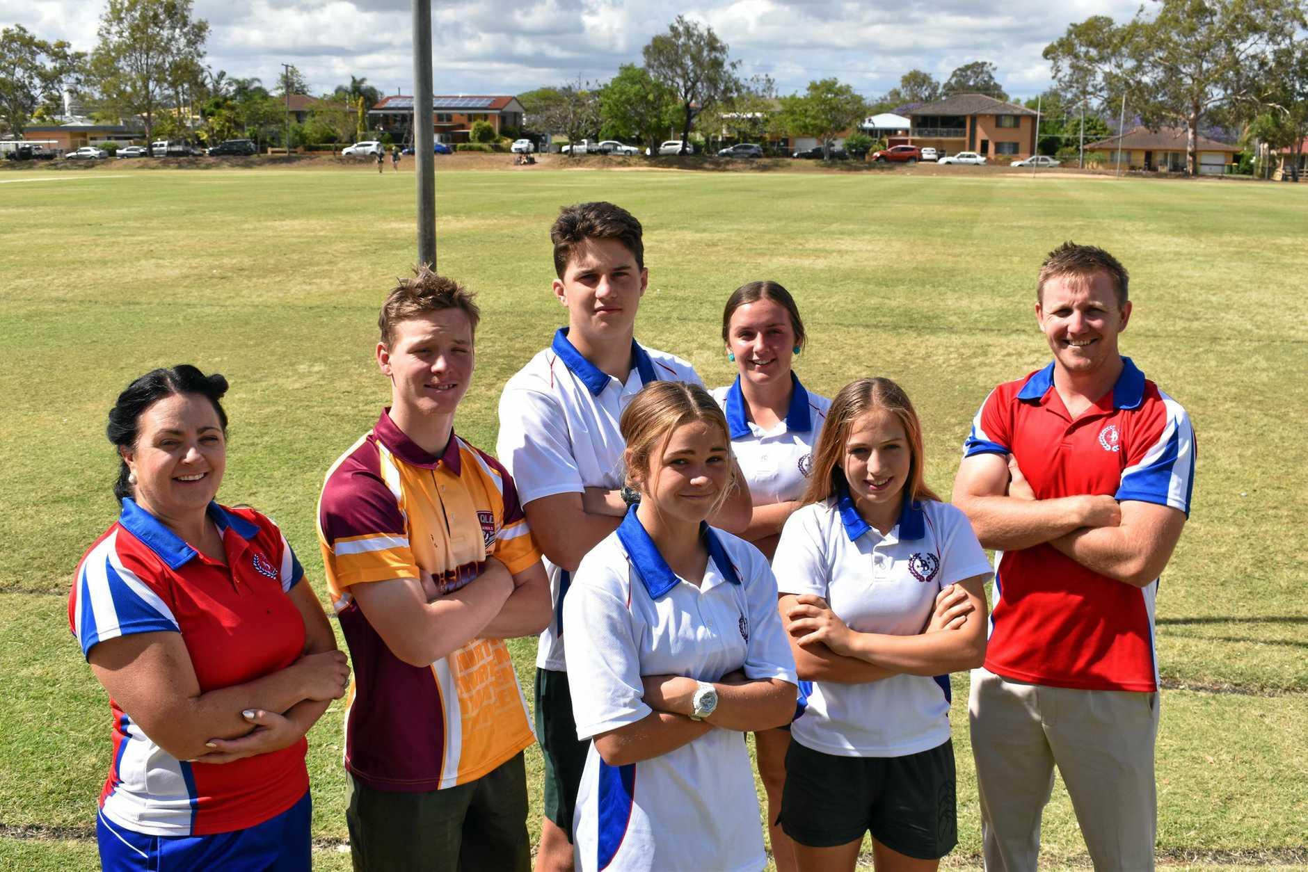 SUCCESSFUL YEAR: Lockyer District High School's Sarah Ryan, Dylan Flanagan, Nathan Kleidon, Kyha Black, Jess Fedrick, Matthew Schulze and Courtney Nolan.