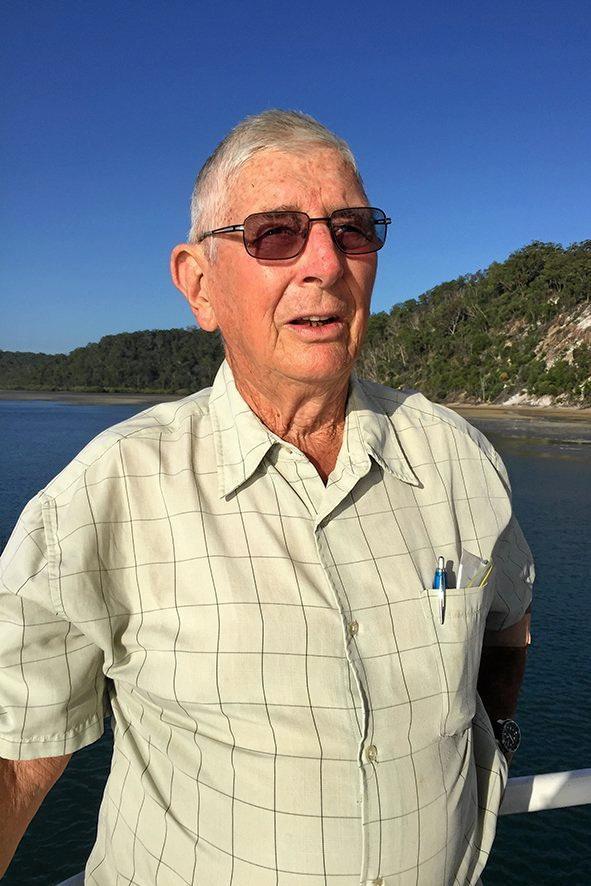 Fraser Island Defenders Organisation conservationist Dr John Sinclair.