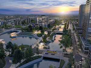 Towers, rail and cutting edge design: $430m CBD takes shape