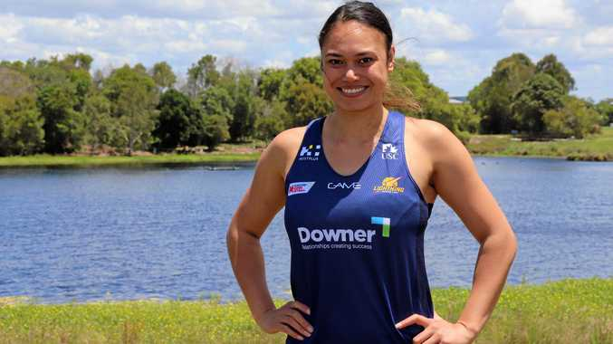 EXCITED: Chanel Dyer is eager to learn from the Lightning's starting squad during pre-season training.