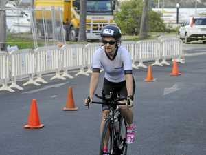 YAMBA TRI FESTIVAL: Bike ride leg