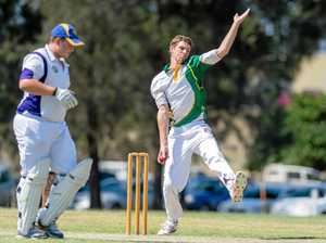 New Gympie bowler not as fast as Starc, but give him time