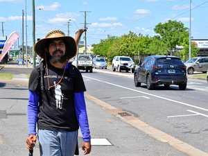 Wakka Wakka man on 7000km message stick journey to PM