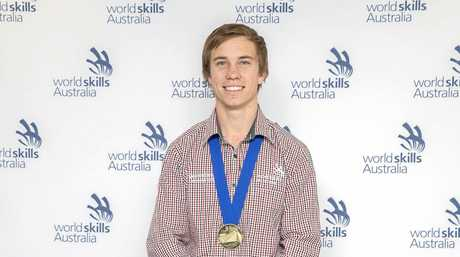 WorldSkills National Championships gold medal winner from Gympie - Patrick Brennan, for refrigeration and airconditioning category.