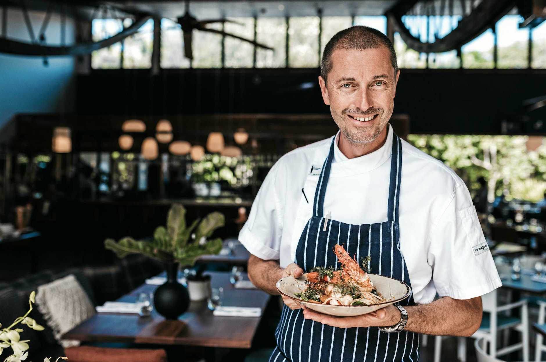 AWARD WINNER: Byron At Byron's executive chef Matthew Kemp will start work at the Kingscliff Beach Bowling Club next month.