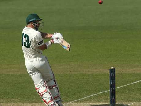 Matthew Wade's century for Tasmania on the weekend follows on from four half-centuries in his three previous Shield matches. Picture: AAP Image