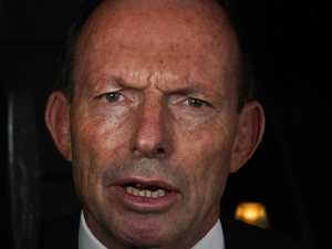 Abbott's issue with indigenous welcome