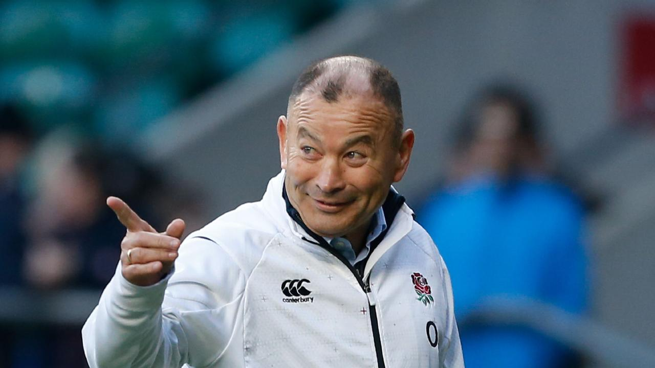 England's coach Eddie Jones is expecting some barbs this week. Picture: Ian Kington/AFP