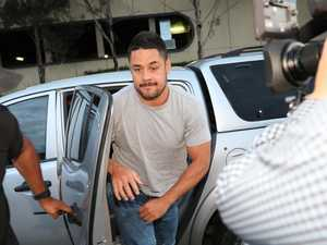 Hayne bit woman and kept taxi waiting, police allege