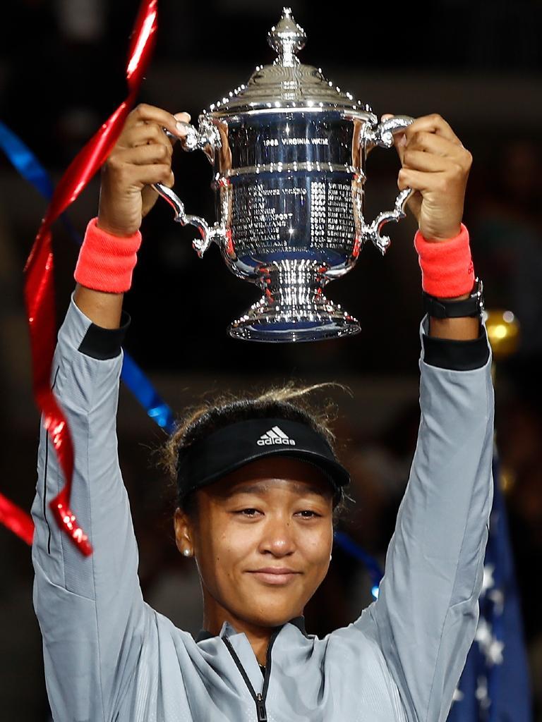 US Open winner Naomi Osaka. Picture: Getty
