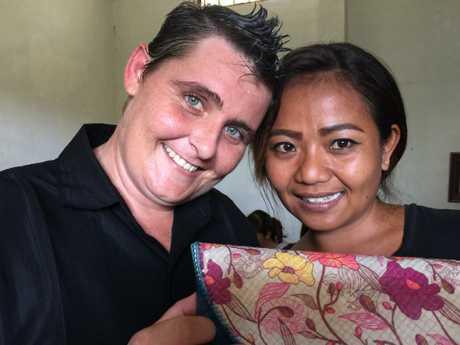 The Aussie prisoner ran a hail handicrafts program, helping fellow inmates make handbags.