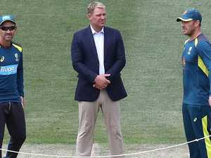 Defiant response to furious Warne outburst