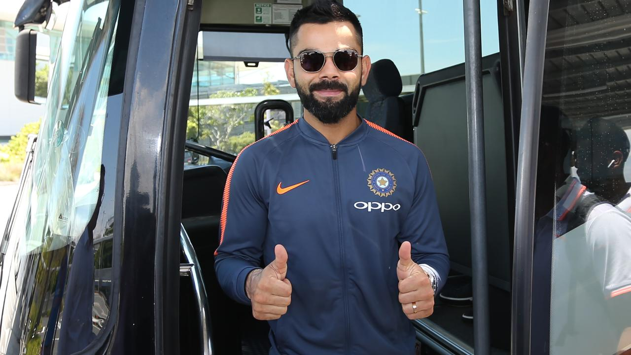 India skipper Virat Kohli says he 'loves' playing in Australia.
