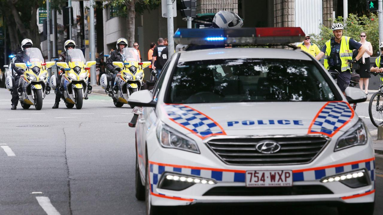 Police have closed a Brisbane street after a suspicious item was located. Picture: AAP/File