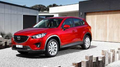 The CX-5's styling proved popular with Australian buyers.