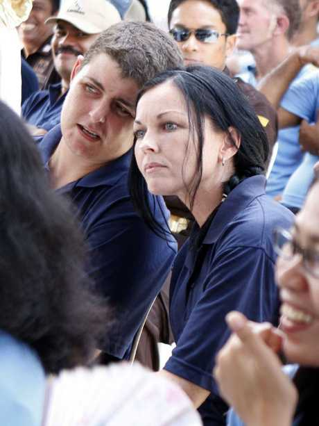 Lawrence and Schapelle Corby in 2008.