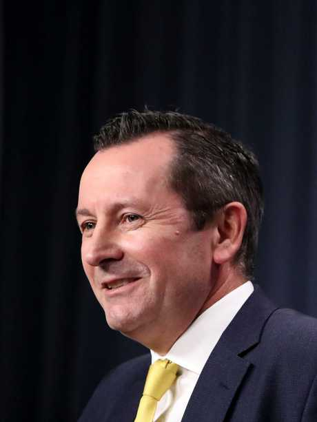WA Premier Mark McGowan has demanded more federal government cash. Picture: Colin Murty