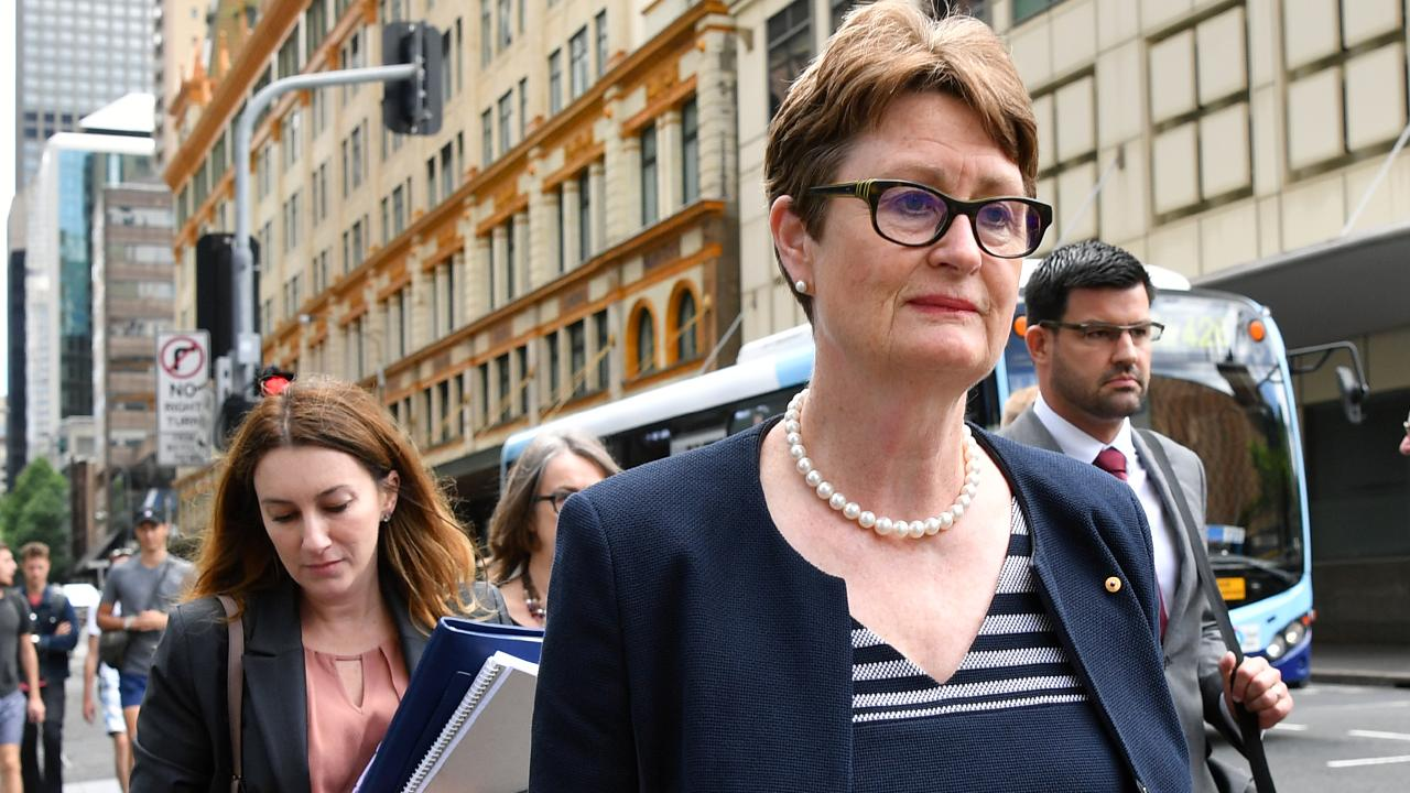 Commonwealth Bank of Australia chairwoman Catherine Livingstone. Picture: AAP
