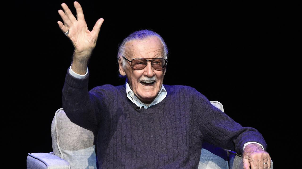 "The company owned by Stan Lee called Maher's comments ""disgusting"". Picture: Chris Pizzello"