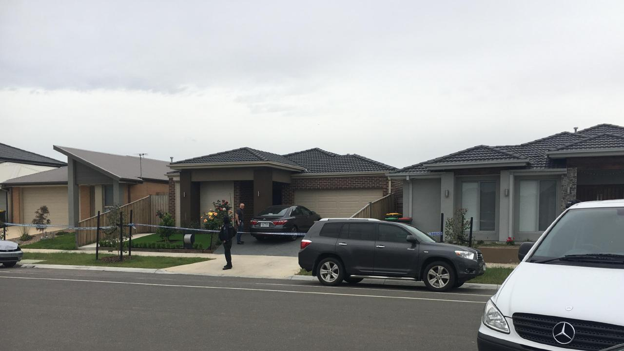 A Greenvale property was among the raided homes. Picture: Stephen Drill