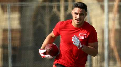 Valentine Holmes has been released to pursue his NFL ambitions.