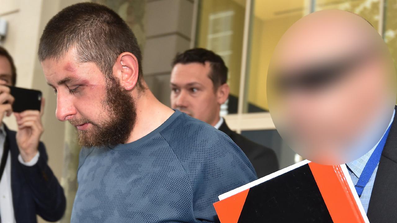 Ertunc Eriklioglu in custody. Picture Jay Town