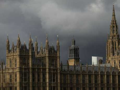 A dark cloud is hanging over British political life at the moment.