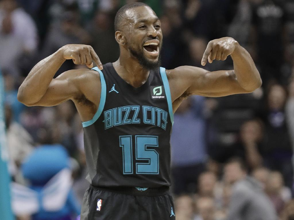 Kemba Walker is heating up.