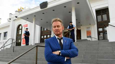 Richard Roxburgh as Cleaver Greene in Rake. Picture: Supplied/ABC