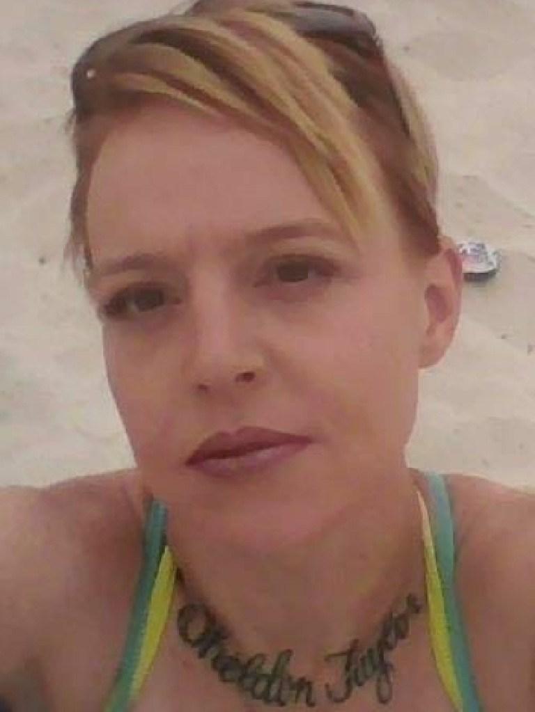 Suspected murder victim Kym Taylor.