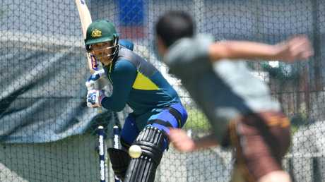 Aaron Finch says the batting line-up is far from determined. Picture: AAP