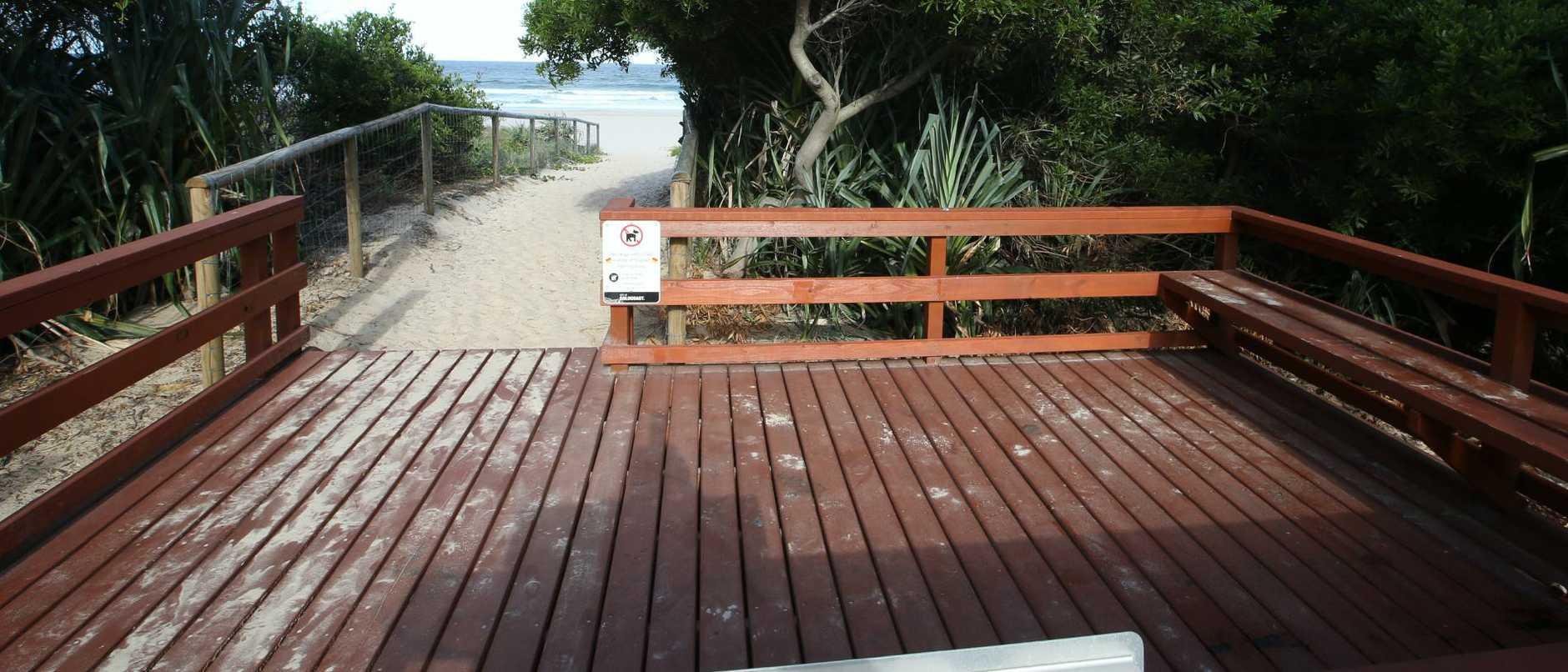 Sydney Hamilton Family Park at Surfers Paradise. Picture Glenn Hampson