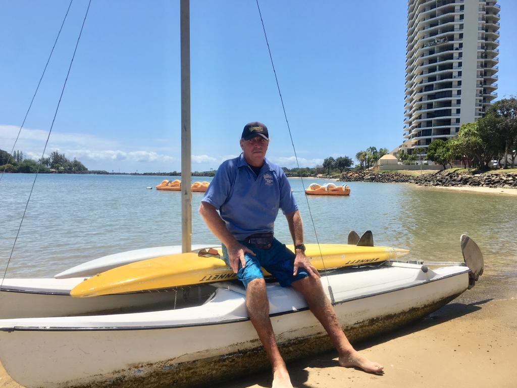 Big Trev's Watersports owner Trevor Arbon. Picture: Greg Stolz