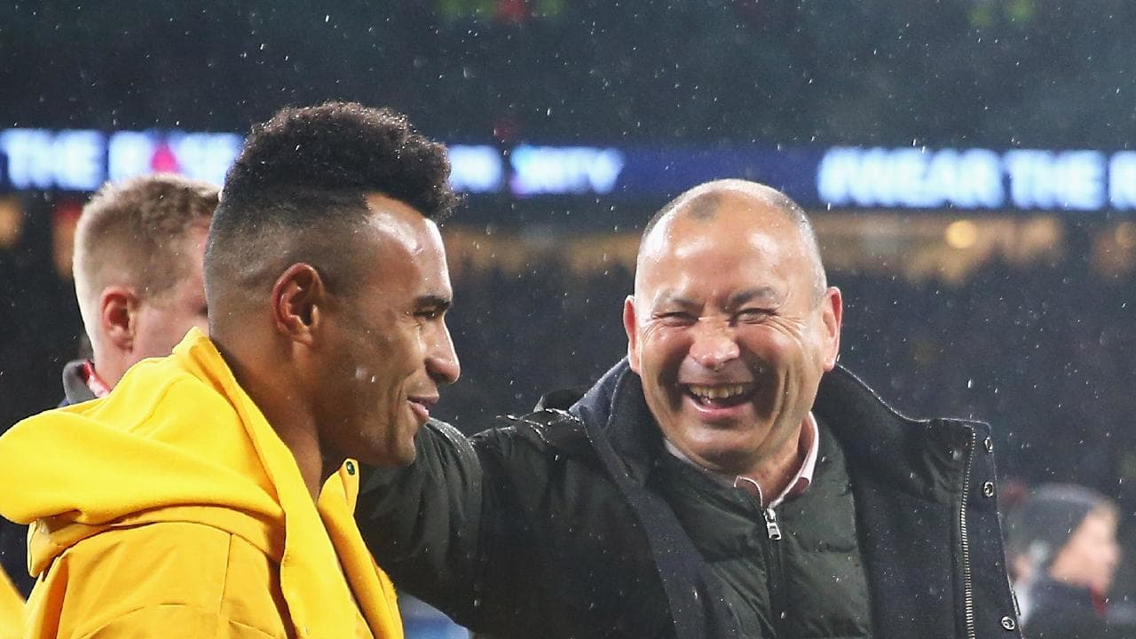 Eddie Jones gave Will Genia his break at the Reds. Picture: Getty