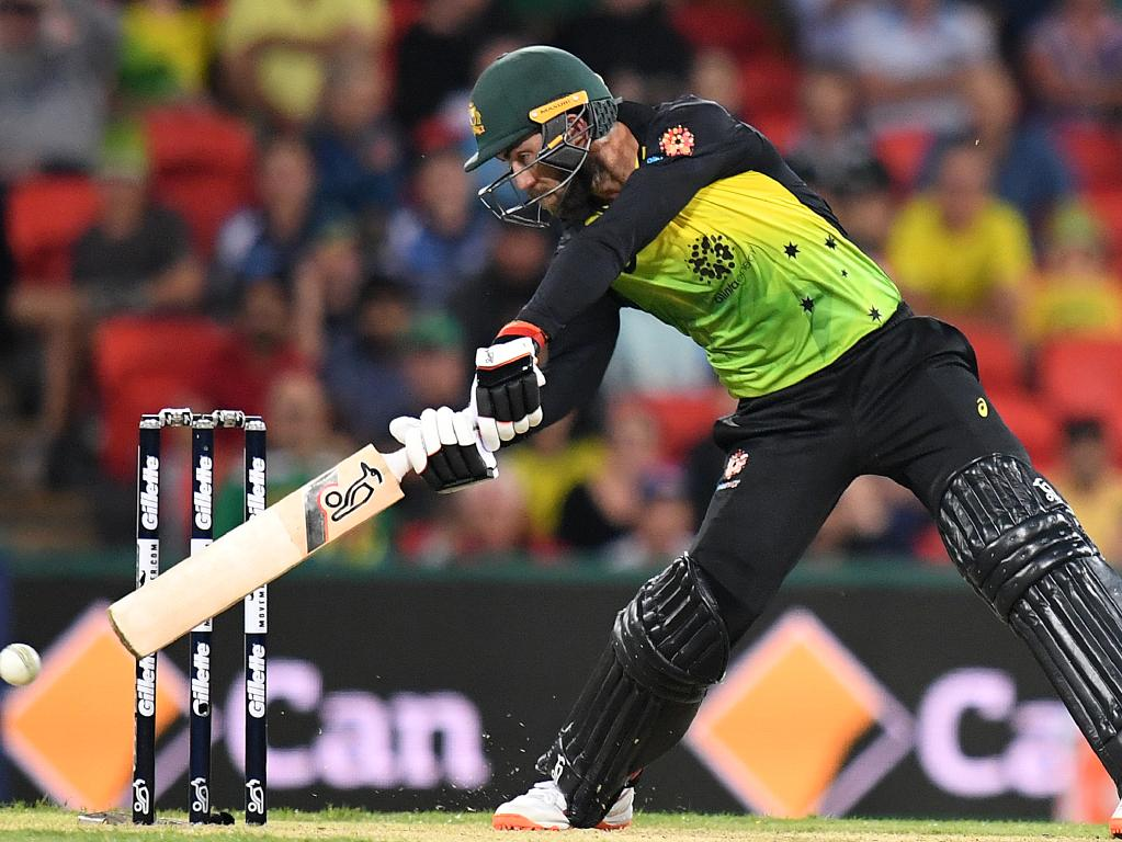 Glenn Maxwell didn't escape Warne's fury.