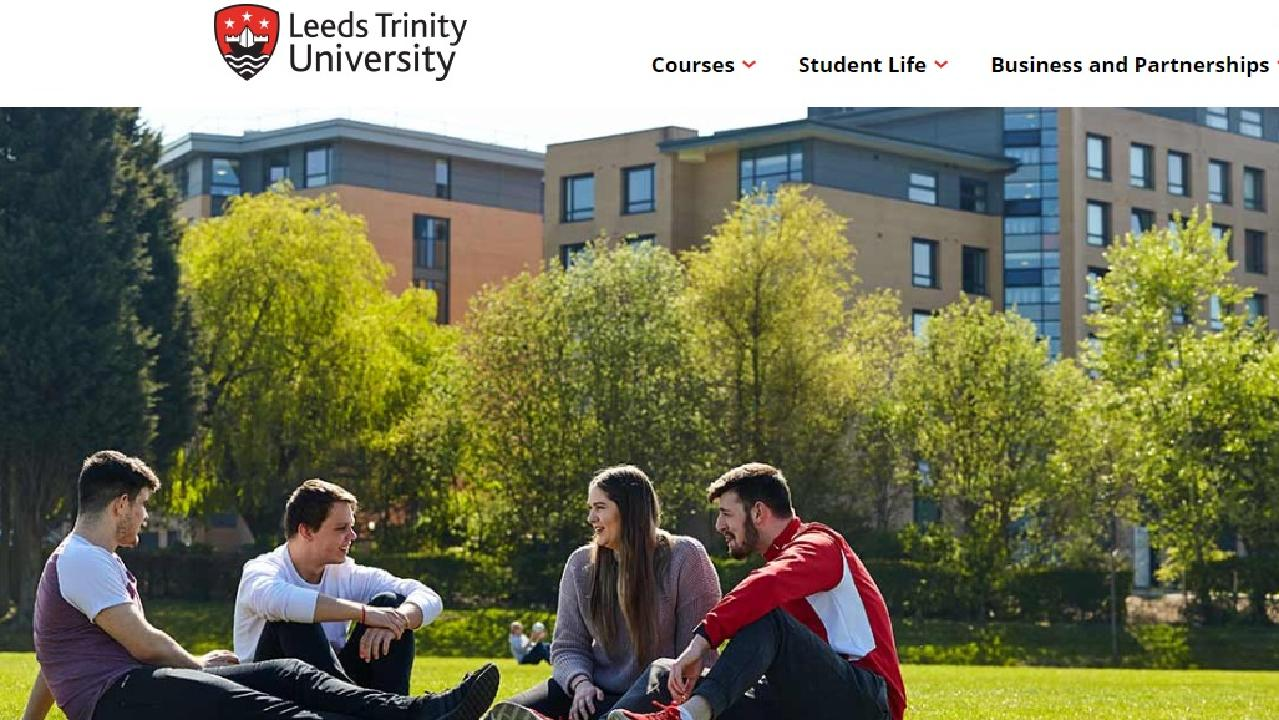 Leeds Trinity University staff were told not to use 'frightening' capitals.