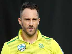 Aussie fans still 'angry and hurt': Faf