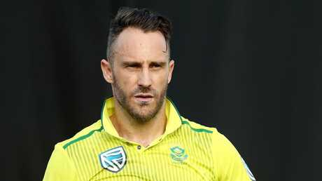 Faf du Plessis suggested the Australian side was still struggling in the wake of the ball-tampering scandal.